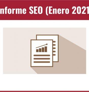 Informe SEO Enero 2021