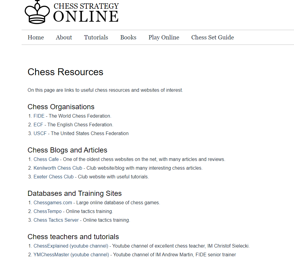 chess resources example